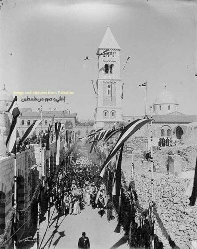 Palestina masih damai dibawah Kesultanan Ottoman
