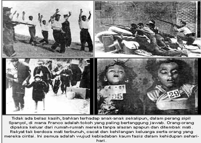 Foto kekejaman kaum fasis di eropa