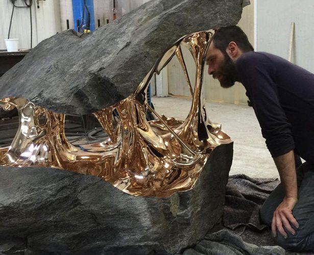 Inilah Seni Patung Perunggu Unik Karya Romain Langlois