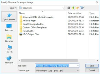 Cara Convert Dokumen Word, Power Point, Excel ke Gambar JPG, PNG, TIF