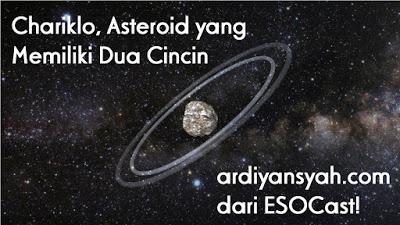 Chariklo, Asteroid yang Memiliki Dua Cincin (Video)