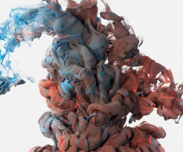 Inilah Foto Tinta dalam Air yang Diambil Kamera Berkecepatan Tinggi