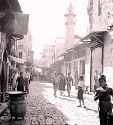 Di Jalanan Bethlehem, Palestina 1920
