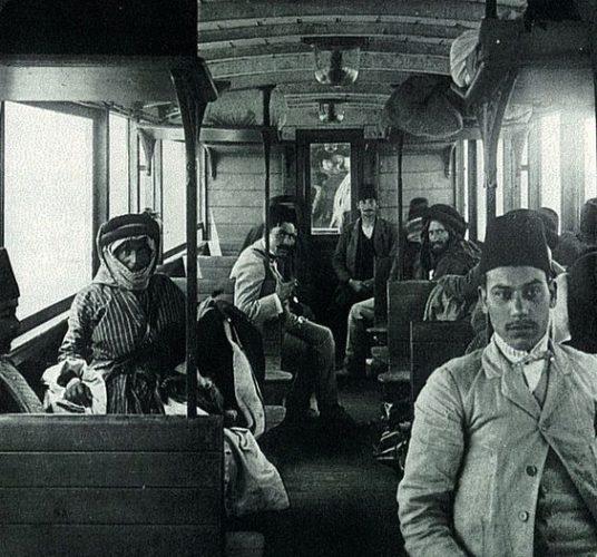 Penumpang kereta pada masa Kesultanan Ottoman