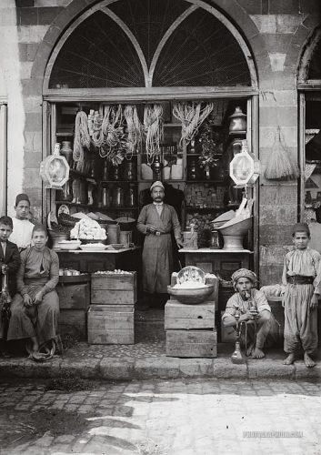 Toko Kelontong di Palestina tahun 1920