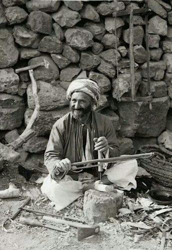 Tukang Kayu tahun 1920 di Palestina
