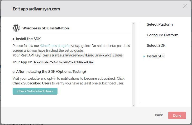 Cara Membuat Notifikasi Browser di Website WordPress