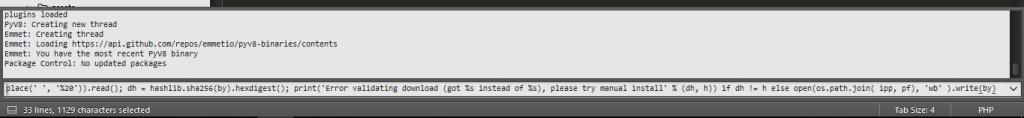 Cara Copy Kode Program di Sublime Text