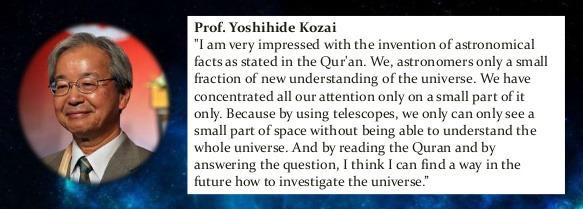 Prof. Yoshihide Kozai