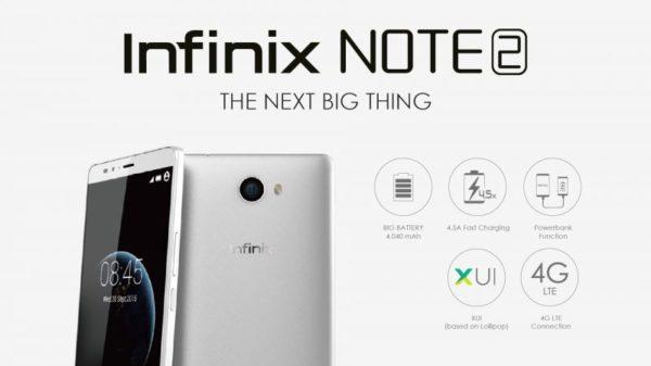 Cara Flashing Infinix Note 2 x600