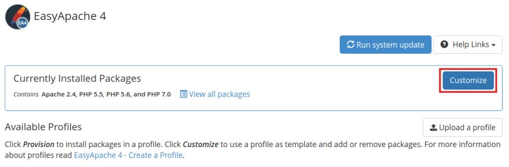 Cara Upgrade Versi PHP di WHM Menggunakan EasyApache 4